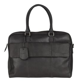 Burkely On The Move Laptopbag Flap Black 15 inch