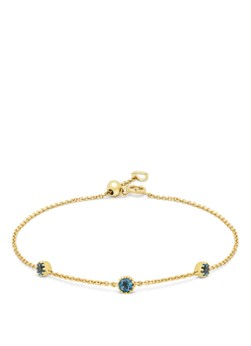 Diamond Point Geelgouden armband, 0-42 ct london topaas, Joy
