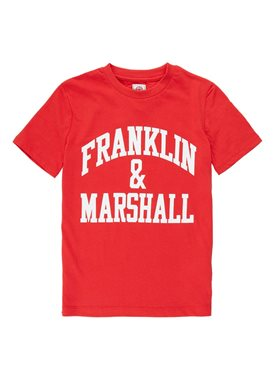 Franklin & Marshall T-shirt met logoprint