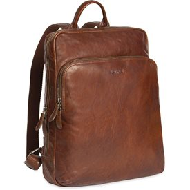 Justified Leren Laptop Rugzak 13 inch Everest Cognac