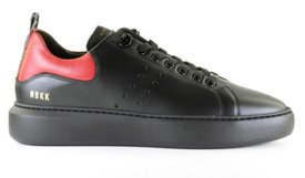 Nubikk Scott Phantom Black Leather Herensneakers