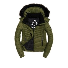Superdry winterjas groen