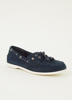 Tommy Hilfiger Essential loafer van suède