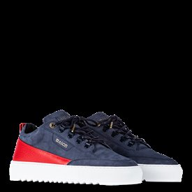 Torino Nubuck/Leather - Navy-45