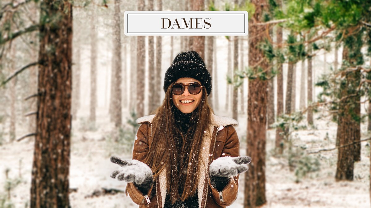 Dames slider winter
